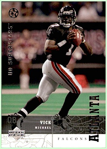 2002-03 Upper Deck UD SuperStars #21 Michael Vick ATLANTA FALCONS VIRGINIA TECH HOKIES - Michael Vick Memorabilia