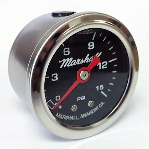 LB00015 Liquid Filled Fuel Pressure Gauge ()