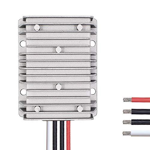 Valefod DC to DC High Efficiency Voltage Converter 36V / 48V to 12V 30A 360W Buck Converter DIY Power Supply Step Down Transformer