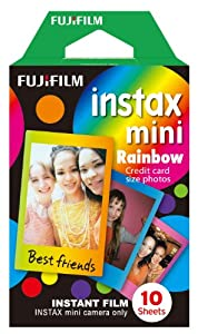Fujifilm Instax Mini Instant Film, 10 Photos/Pack