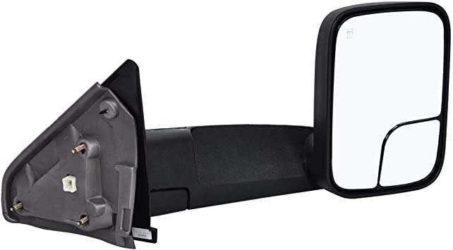 1PC FOR 07-14 Chevy Silverado GMC Sierra Side View Left Tow Towing Mirror Power