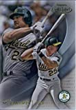 2016 Topps Gold Label Class 1 #65 Mark McGwire Oakland Athletics Baseball Card in Protective Screwdown Display Case