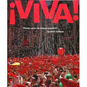 ¡viva! Primer curso de Lengua Espanola Instructor's Annotated Edition Teacher's Edition of Textbook 9781605760957