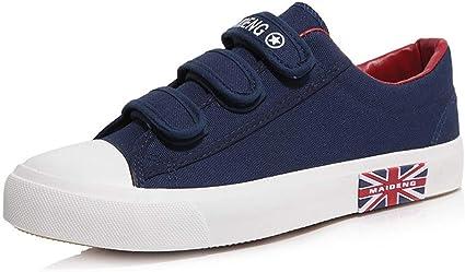 Canvas Shoes, Velcro Lazy Shoes