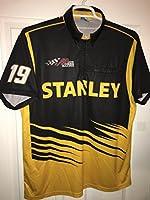 Large Daniel Suarez Stanley Tools Authentic Team Issued Nascar Pit Crew Shirt Racing Toyota TRD JGR Joe Gibbs Racing