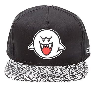 813ea2a7fb1 Meroncourt Nintendo Super Mario Bros. Boo Ghost Rubber Patch ...