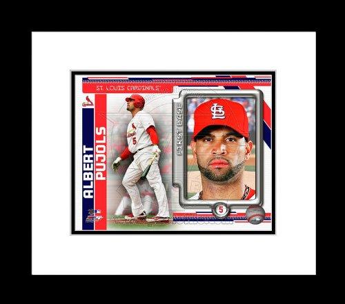 St. Louis Cardinals Albert Pujols Framed Picture - Studio Plus 8x10