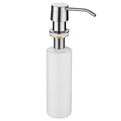 Solid Mount Pump Countertop Kitchen Sink Soap Dispenser Set With Bottle High Quality Home Improvement Bathroom Fixtures