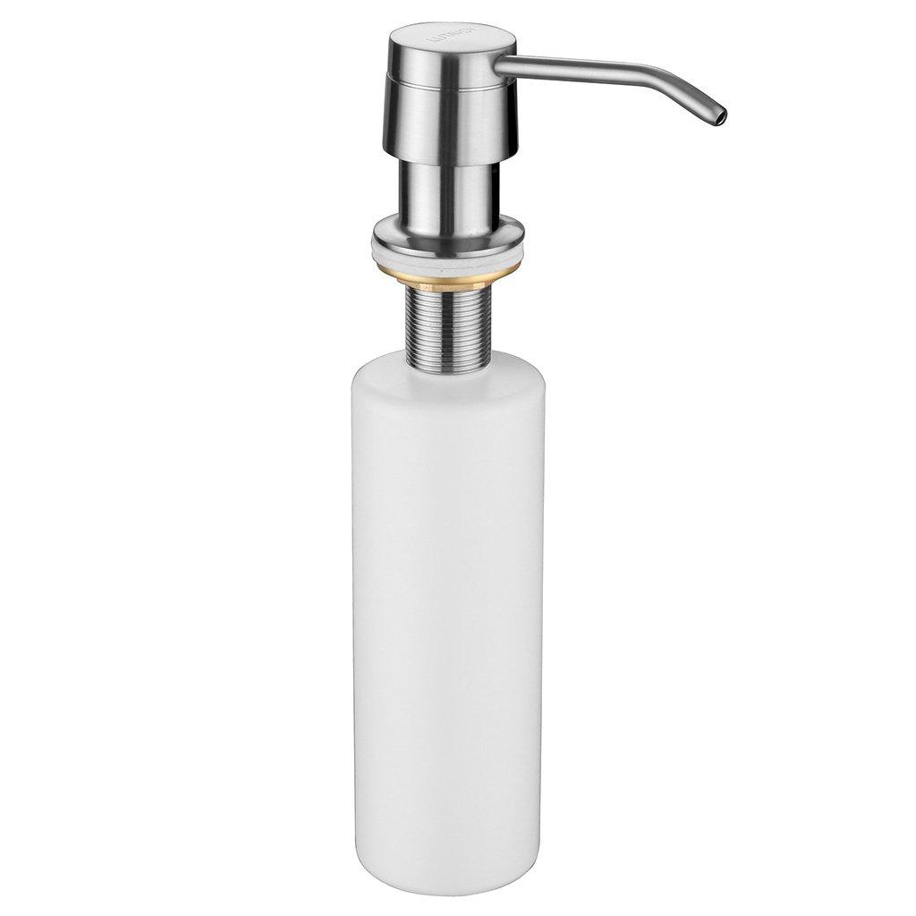 Amazon Com Kitchen Faucet Brushed Nickel Kitchen Sink