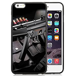 Beautiful Designed Case For iPhone 6 Plus 5.5 Inch Phone Case With Submachine Gun and Bullets Phone Case Cover