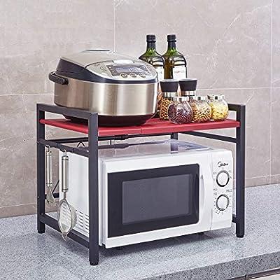 RUNWEI Horno de microondas Cocina de Acero Inoxidable ...