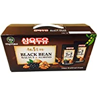 Sahmyook Black Bean With Walnut & Almond Soy Milk, 6.5 Fl. Ounce (Pack of 20)