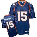 Men`s Denver Broncos #15 Brandon Marshall Team Replica Jersey