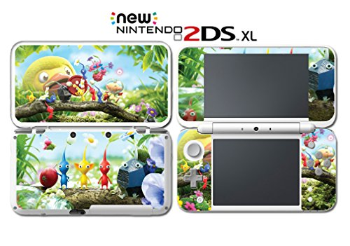 Hey! Pikmin Lift-Off Captain Olimar Video Video Game Vinyl Decal Skin Sticker Cover for Nintendo New 2DS XL System - Lift Decal