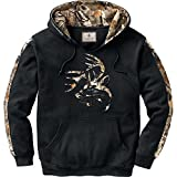 Legendary Whitetails Men's Camo Outfitter Hoodie (Onyx, XXXXX-Large)