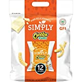 Cheetos simply cheese puffs white cheddar 8.75 ounce