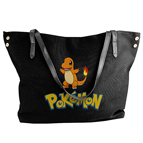 Pokemon Charmeleon Costume (Charmander Charmeleon Women Canvas Handle Single Shoulder Bag/Handbag)