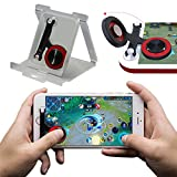 Mobile Joystick, Phone Game Rocker for PUBG/Fortnite/Knives Out/Rules of Survival for iphone/Smart Phones, Touch Screen Joypad for Android/IOS (Rocker)