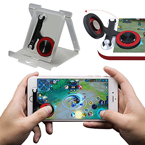Mobile Joystick, Phone Game Rocker for PUBG/Fortnite/Knives Out/Rules of Survival for iphone/Smart Phones, Touch Screen Joypad for Android/IOS (Rocker) by Heptagram