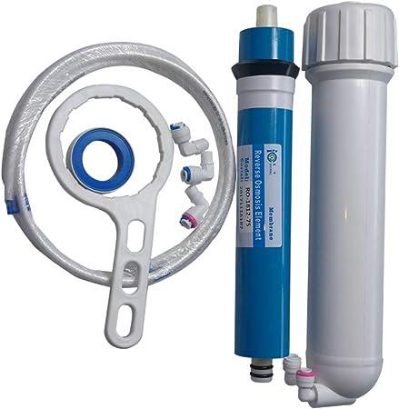 HUINING - Kit de carcasa de membrana de ósmosis inversa RO con ...