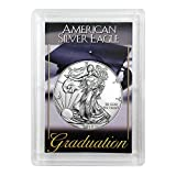 2018 Silver Eagle With Graduation Coin Holder $1 Brilliant Uncirculated