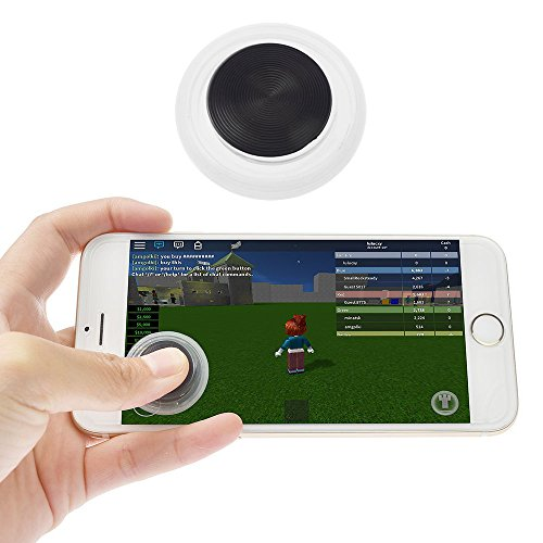 Mobile Joystick Touch Screen Joypad Phone Game Rocker Smartphones Mini Gaming Controller For Android, ios/iPhones & Tablets/ipad