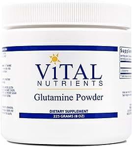 Vital Nutrients - Glutamine Powder - Gastrointestinal and Immune Support - 225 Grams