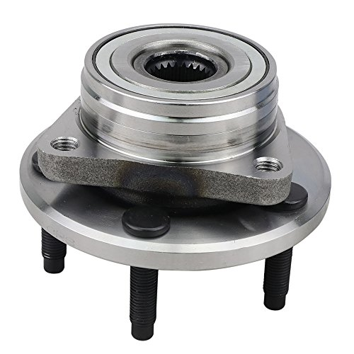 CRS NT513100 New Wheel Bearing Hub Assembly, Front Left (Driver)/Right (Passenger) Side, 1996-2007 Ford Taurus, 1995-2002 Lincoln Continental (FWD), 1996-2005 Mercury Sable (FWD)