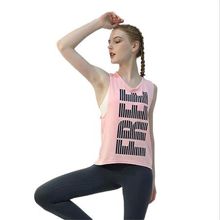 LDDOTR Blusas de Yoga para Mujeres, Blusas Deportivas con ...