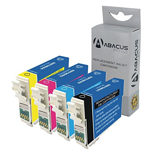 Abacus24-7 Remanufactured Epson 69 Ink Cartridges for Stylus CX6000, CX8400, CX9400, N11, NX415, NX515, WorkForce 1100, 30, 310, 610 and other Printers - Cx7000 Printer Cartridge