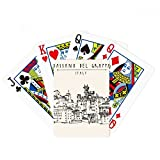 Italy Rome Country Sketch Landscape Poker Playing Cards Tabletop Game Gift