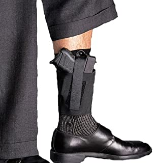 product image for Galco Cop Ankle Band for Ruger LCP, Kel Tec P3AT, P32, Sig Sauer P238, NAA Guardian