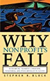 Why Nonprofits Fail, Stephen R. Block, 0787964093