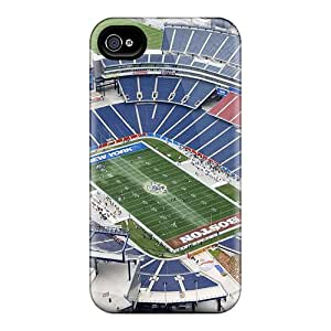 Fashionable Style Case Cover Skin For Iphone 4/4s- New England Patriots Stadium