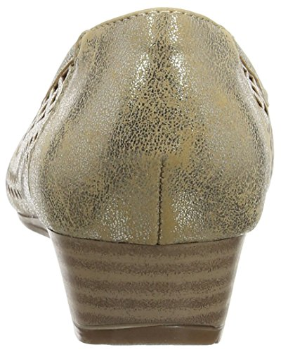 oro metallizzato Shoes Gold Women's Toff Lotus wqIaXfR6ox