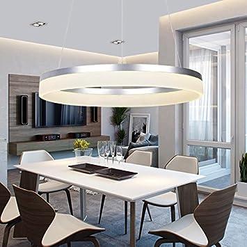 Modernes Esszimmer In Form Kreis Kronleuchter Lampe Einfach Living