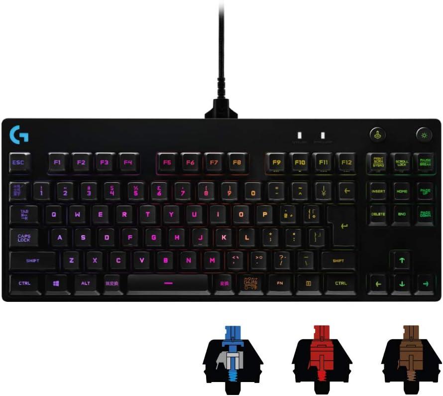 Logicool G PRO X ゲーミングキーボード G-PKB-002