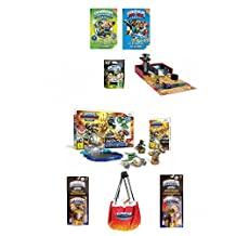 Best bargins New! SKYLANDER (8pc) Bundle Deal: Superchargers Racing Starter Pack, Garage Storage CASE, 2 Fun Packs, Mystery Chest, 2 Guide Books W/Poster (Nintendo Wii)