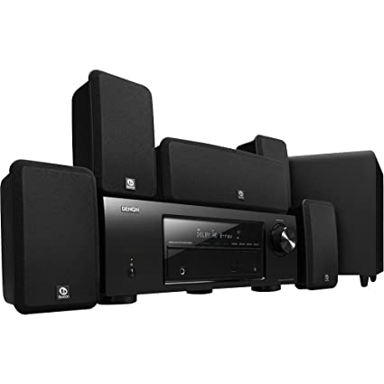 Denon DHT-1513BA Total 650 Watt 5.1 Channel Home Theater System with Boston Acoustics Premium
