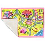 Playmat Play Rug Educational Area Rug for