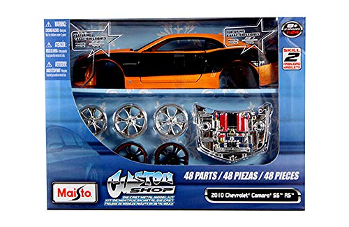 HCK 2010 Chevy Camaro SS RS - Assembly Custom Model Kit Diecast Toy Cars 1:24 Scale