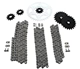 #6: Polaris Magnum 425 4x4Non O Ring Chains & Complete Sprocket Set