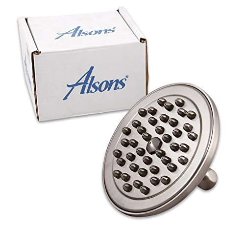 ialty Shower Head, Satin Nickel (Alsons Adjustable Wall Bar)