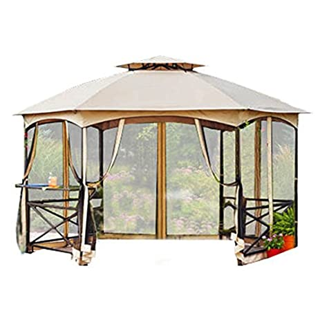 Garden Winds Crossman Hexagon Gazebo Replacement Canopy