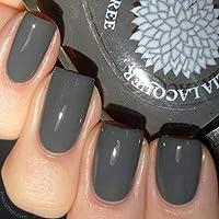 Dove Gray Corsage | Grey Creme Nail Polish | Cream Varnish | by Black Dahlia Lacquer