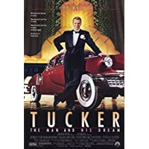 Tucker: The Man and His Dream Movie Poster (11 x 17 Inches - 28cm x 44cm) (1988) Style B -(Jeff Bridges)(Martin Landau)(Dean Stockwell)(Frederic Forrest)(Mako)(Joan Allen)