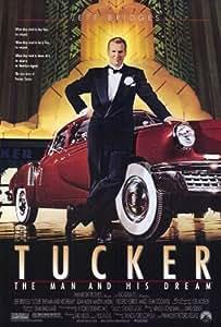 Tucker: El hombre y su Dream Póster de película B 11x 17en-28cm x 44cm JEFF Bridges Martin Landau Dean Stockwell Frederic Forrest Mako Joan Allen