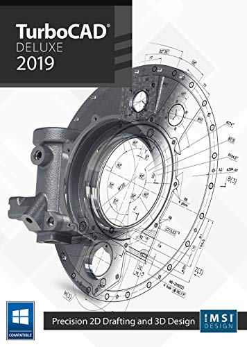 TurboCAD 2019 Deluxe [PC Download] (Software Turbocad)