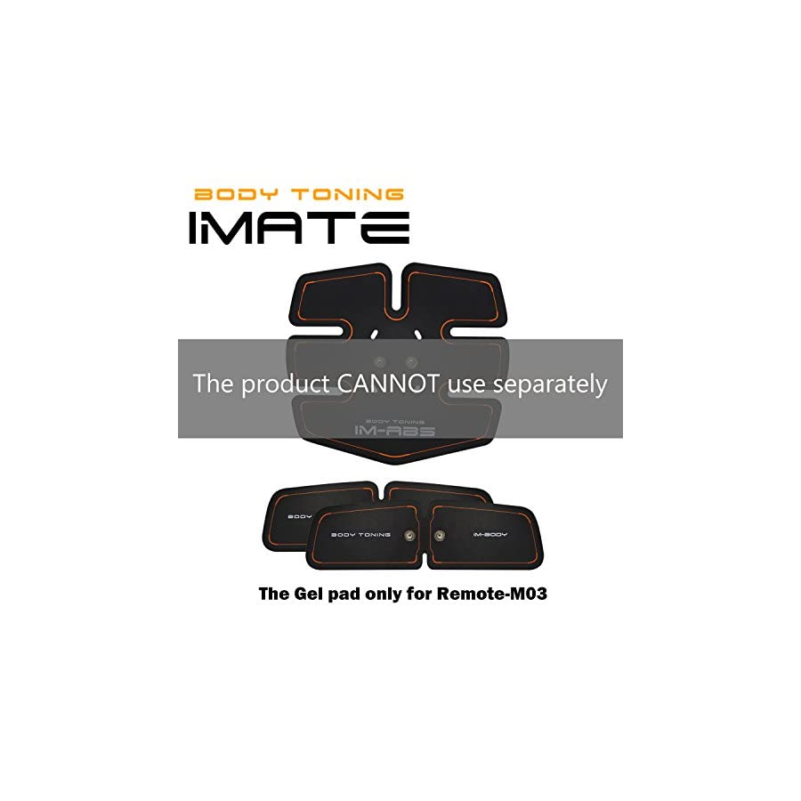 IMATE Abdominal Trainer Toning Belts Abdominal Muscle Toner Fitness Gear Workout Slimming Muscle Arm Leg Waist Abdominal Massage Belt