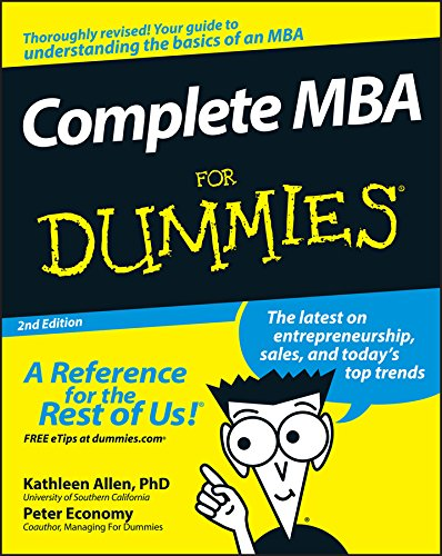Complete MBA For Dummies®